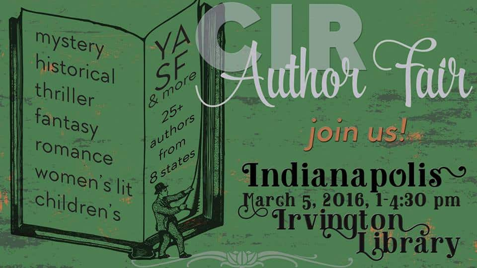 CIR Author Fair official graphic