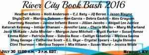 Book Signing: River City Book Bash this Saturday!
