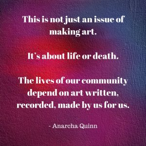 Art as Activism – A Guest Post by Anarcha Quinn | Disability in Fiction